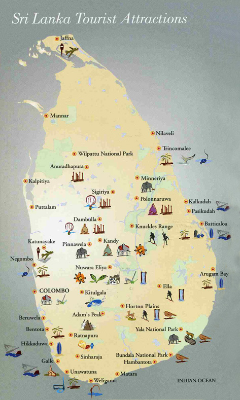 Sri-Lanka-Map-Tourist-Attractions